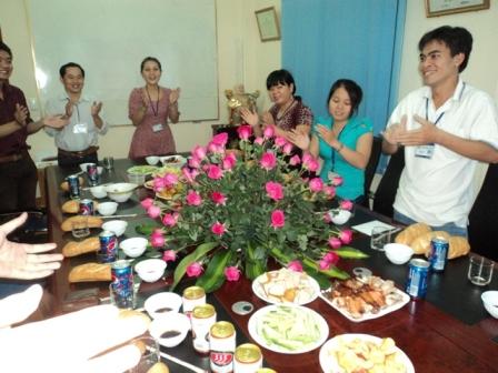Chúc mừng sinh nhật- Nét văn hóa đẹp của Hải Khánh