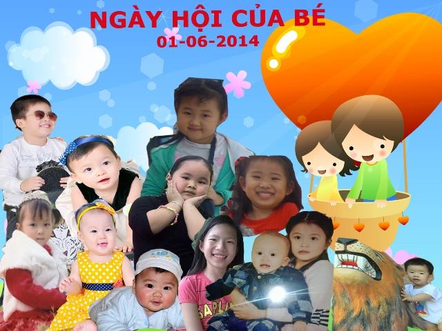 Chào mừng Ngày hội của bé- 1/6/2014