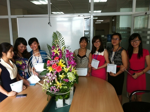 HFJ HAN chúc mừng ngày Phụ nữ Việt Nam 20/10/2014