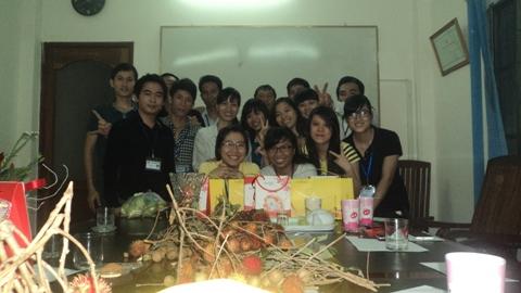 HFJ HCMC mừng ngày Phụ Nữ Việt Nam 20.10.2014