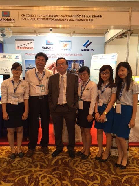 HFJ THAM DỰ HỘI NGHỊ GIAO THƯƠNG LOGISTICS VIỆT NAM HỘI NHẬP CỘNG ĐỒNG KINH TẾ ASEAN (AEC) 2015