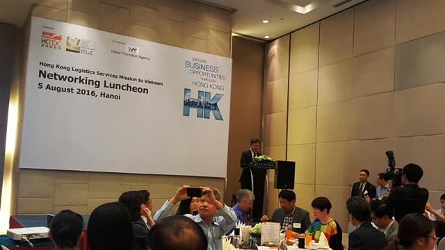 HẢI KHÁNH THAM GIA GIAO LƯU CÁC DOANH NGHIỆP LOGISTICS HONGKONG NGÀY 05.08.2016