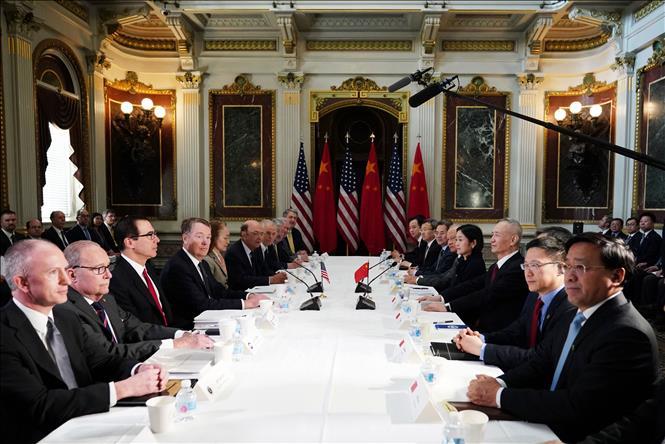 Tín hiệu khả quan trong đàm phán thương mại Mỹ-Trung