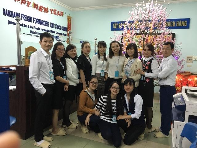 LÌ XÌ ĐẦU NĂM 2018 – VĂN PHÒNG HẢI PHÒNG